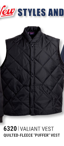 6320 Valiant Vest Quilted-Fleece Puffer Vest